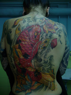 Sexy Japanese Tattoos Especially Koi Fish Tattoo Designs With Image Japanese Koi Fish Tattoo On The Back Body Tattoo For Women Tattoos Gallery Picture 4