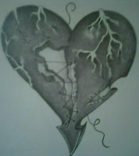 Heart Tattoos With Image Heart Tattoo Designs Especially Broken Heart Tattoos Picture 7