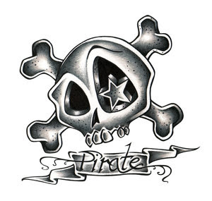 Skull Star Tattoo Design