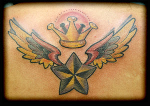 Nice Star Tattoos With Image Tattoo Designs Especially Wings Star Tattoo Picture 2