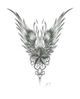 Nice Star Tattoos With Image Tattoo Designs Especially Star Wings Tattoo Picture 2