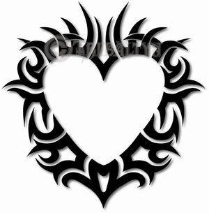 Heart Tattoos With Image Heart Tattoo Designs Especially Heart Tribal Tattoo Picture 8