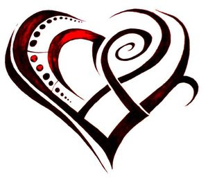 Heart Tattoos With Image Heart Tattoo Designs Especially Heart Tribal Tattoo Picture 4