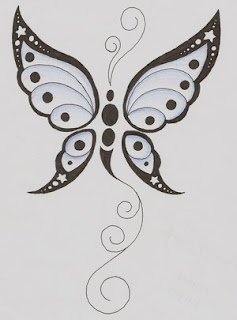Nice Butterfly Tattoo With Image Butterfly Tattoo Designs Picture 8