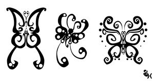 Nice Butterfly Tattoo With Image Butterfly Tattoo Designs Picture 7