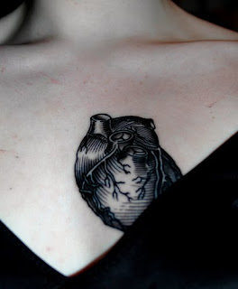 Heart Tattoos With Image Female Tattoo With Heart Tattoo Designs On The Body Picture 6