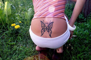 Nice Butterfly Tattoos With Image Butterfly Tattoo Designs For Female Lower Back Butterfly Tattoo Picture 4