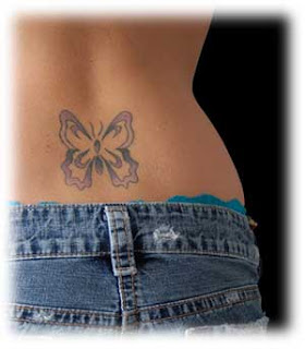 Nice Butterfly Tattoo With Image Butterfly Tattoo Designs For Female Lower Back Butterfly Tattoos Picture 7