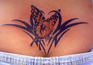 Nice Butterfly Tattoo With Image Butterfly Tattoo Designs For Female Lower Back Butterfly Tattoos Picture 4