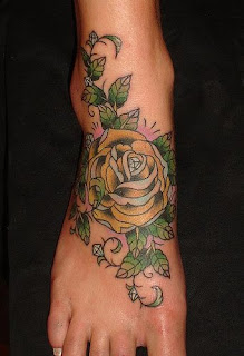 Amazing Flower Tattoos With Image Flower Tattoo Designs For Female Tattoo With Foot Flower Tattoo Picture 4