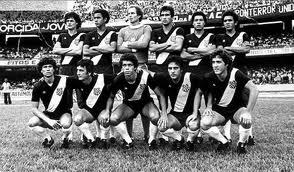Esse era o time base da Ponte, campeã do 1º turno de 1981