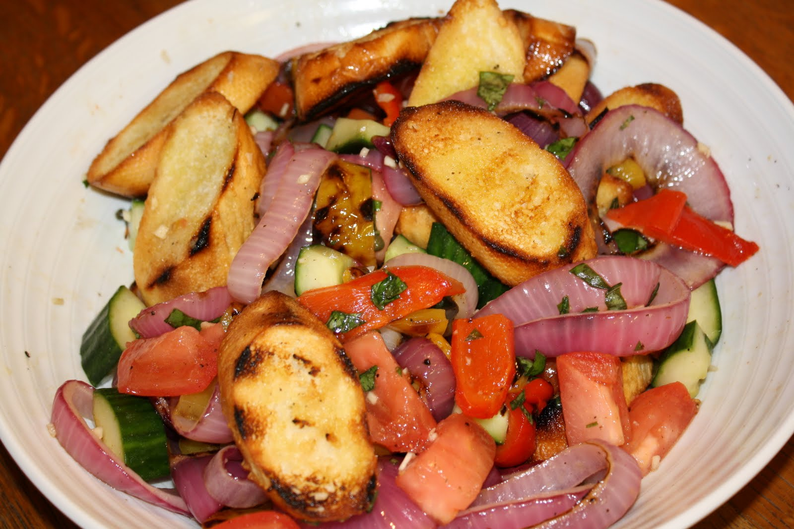 Go be do july 2010 Barefoot contessa panzanella