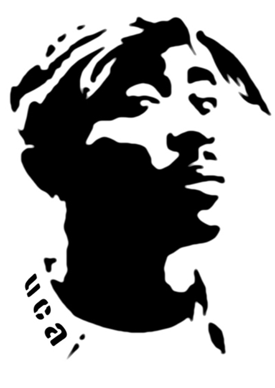 the gallery for gt rap stencil