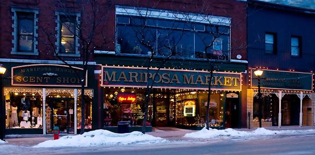 The Mariposa Market, downtown Orillia.