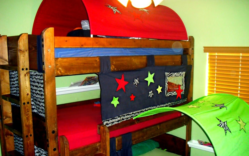 & Lady Create-a-lot: Bunk Bed Tents