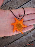Mithras Orange Solar Pendant