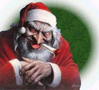 Cranky or Angry Santa