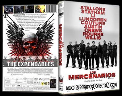 Los Mercenarios hd rip mkv 2010 español de España megaupload 1link