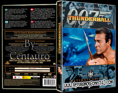007. Operacion trueno 1965   Caratula   Cine Clasico