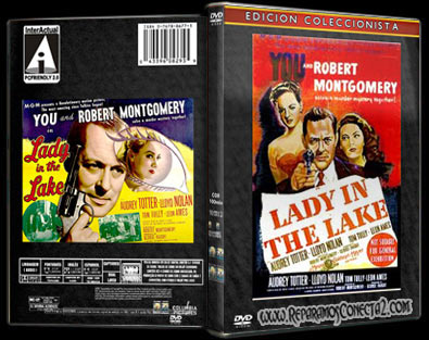 La dama del lago | 1947 | Lady in the Lake | Cover DvD