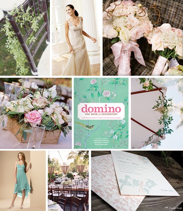 Celadon &amp; Ivory inspiration Board