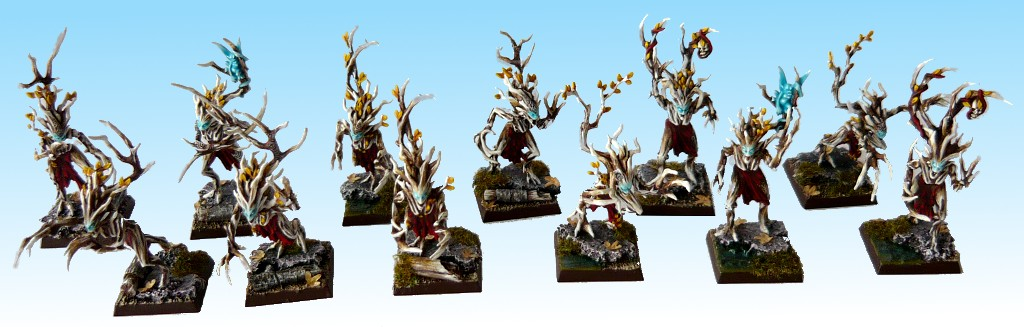 Skavenblight's Wood Elves Driady2