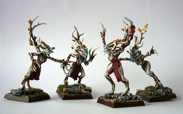 Skavenblight's Wood Elves D6