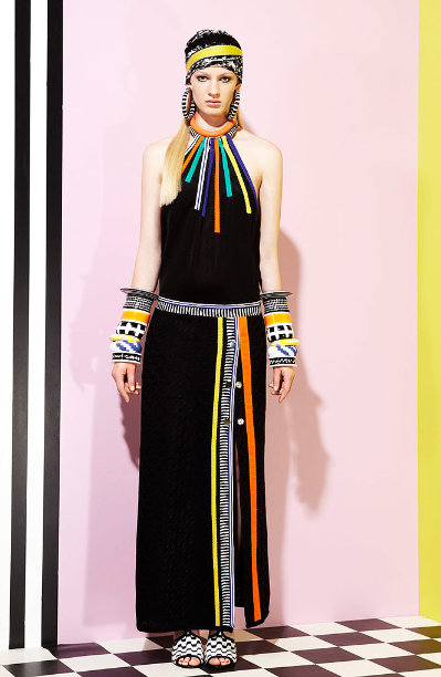 Ndebele Modern Wedding Dress : Out and about africa missoni meets ndebele