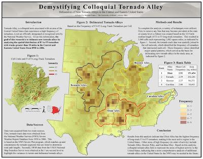 tornado alley map. tornado alley.