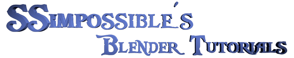 SSimpossible's Blender Tutorials