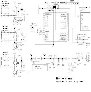 wireless burglar alarm system circuit diagram images home security diagram wiring diagrams pictures