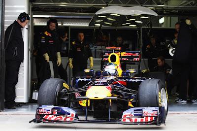 F1 – Sebastian Vettel inicia testes na frente