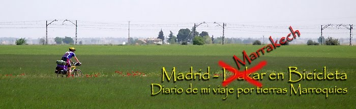 Diario de Madrid-Dakar en bicicleta