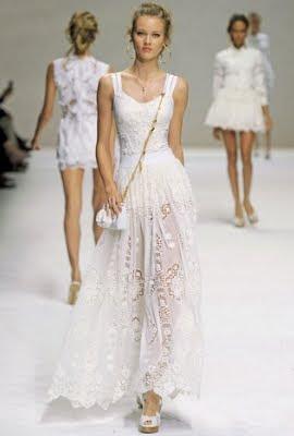 Vestidos cortos blanco 2011