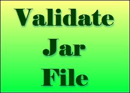 validateJarFile jar not loaded