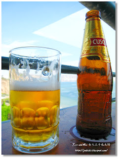 Beer in Miraflores of Lima, Peru