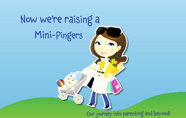 Making a mini-Pingers (or Dingers) - Our journey into parenthood.
