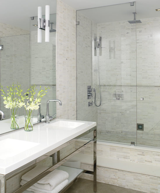 Solid White Bathroom Suites Are A Way Of Adequately Diffusing Light For An  Airy Feeling, When The Light Is Reflected Off Of White Bathroom Furnishing  The ...