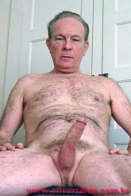 Very homens velhos e nus phrase very