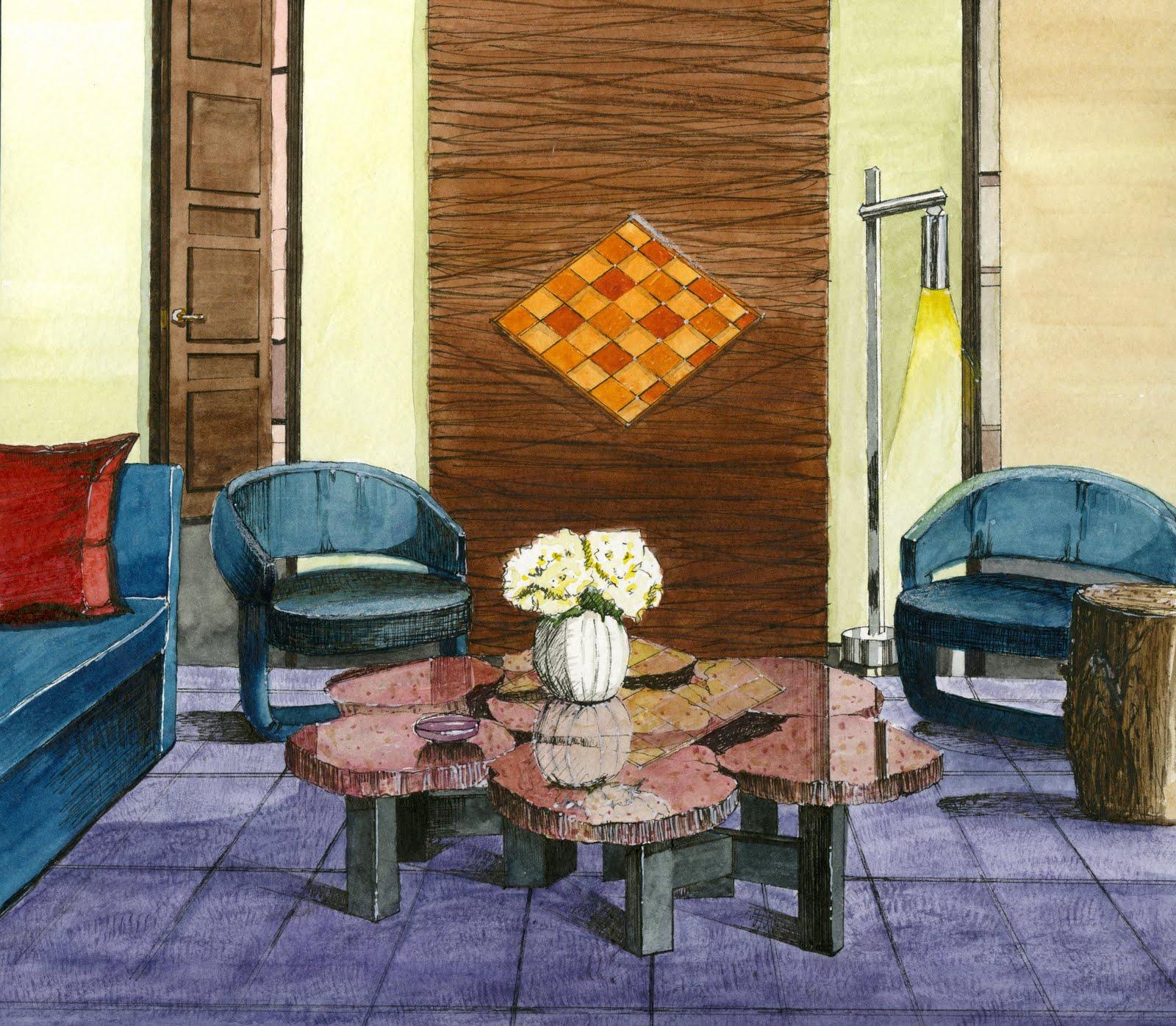 Interior Design and Rendering, Kelly Suna Bong