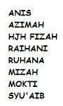 Nama ahli-ahli kumpulan: