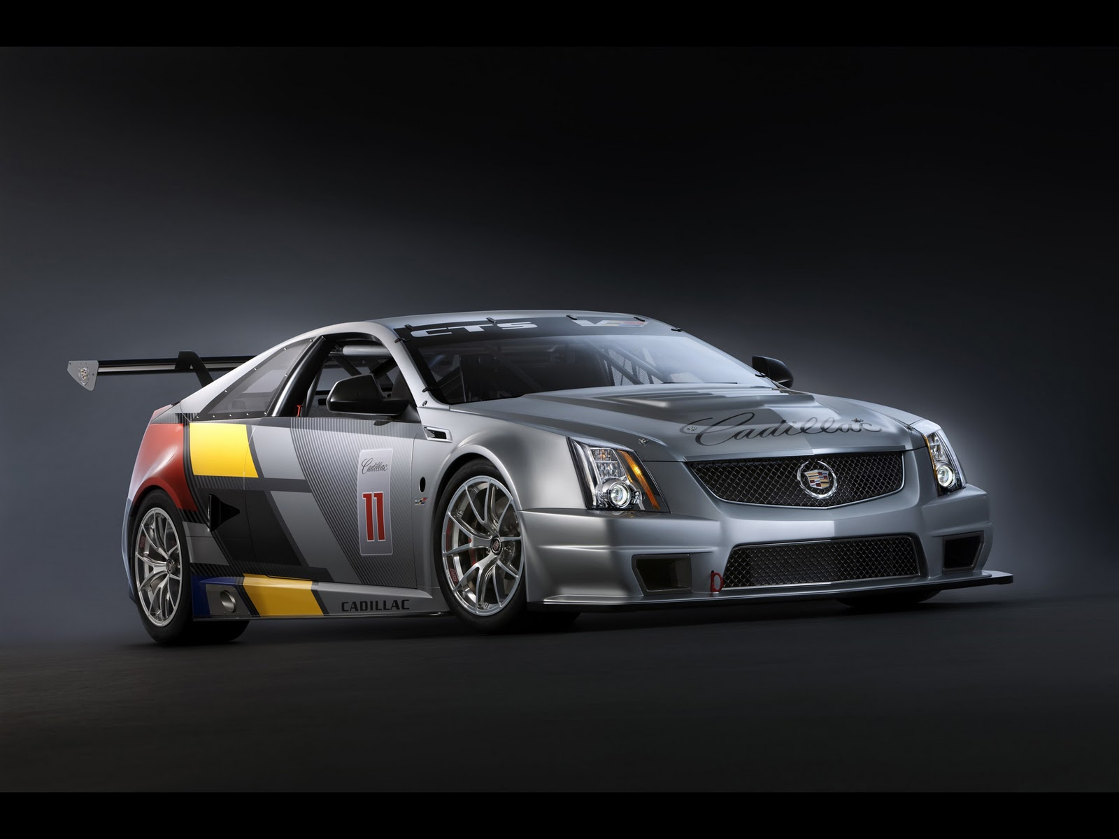 cars hd wallpapers 2011 cadillac cts v coupe racecar. Black Bedroom Furniture Sets. Home Design Ideas