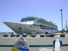 Splendour of the Seas em Montevideo.