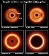 . the simulations show how the distant view of the solar system might have .