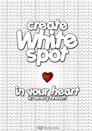 white spot...