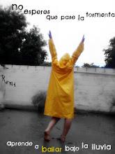 Aprende a bailar bajo la lluvia..