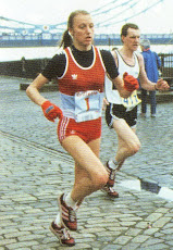 WITH GRETE WAITZ LONDON &#39;83