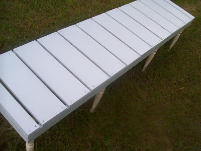 Quick and easy outdoor bench tutorial