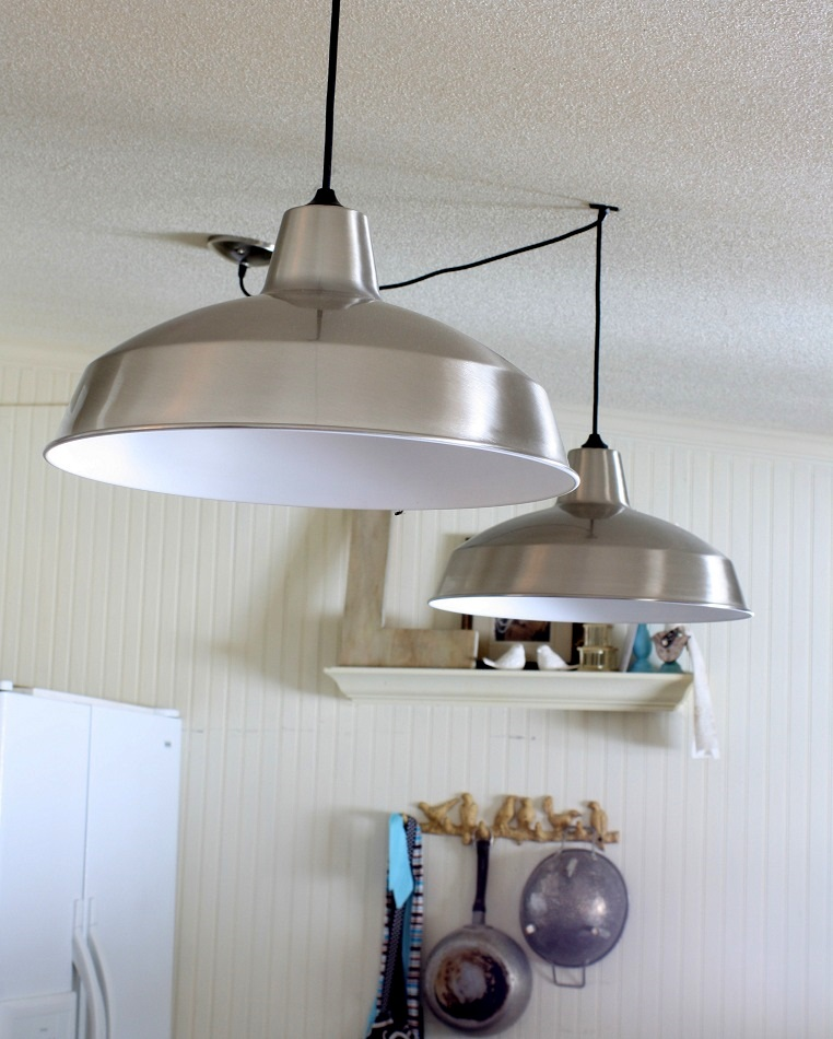 new kitchen lighting check the shabby creek cottage