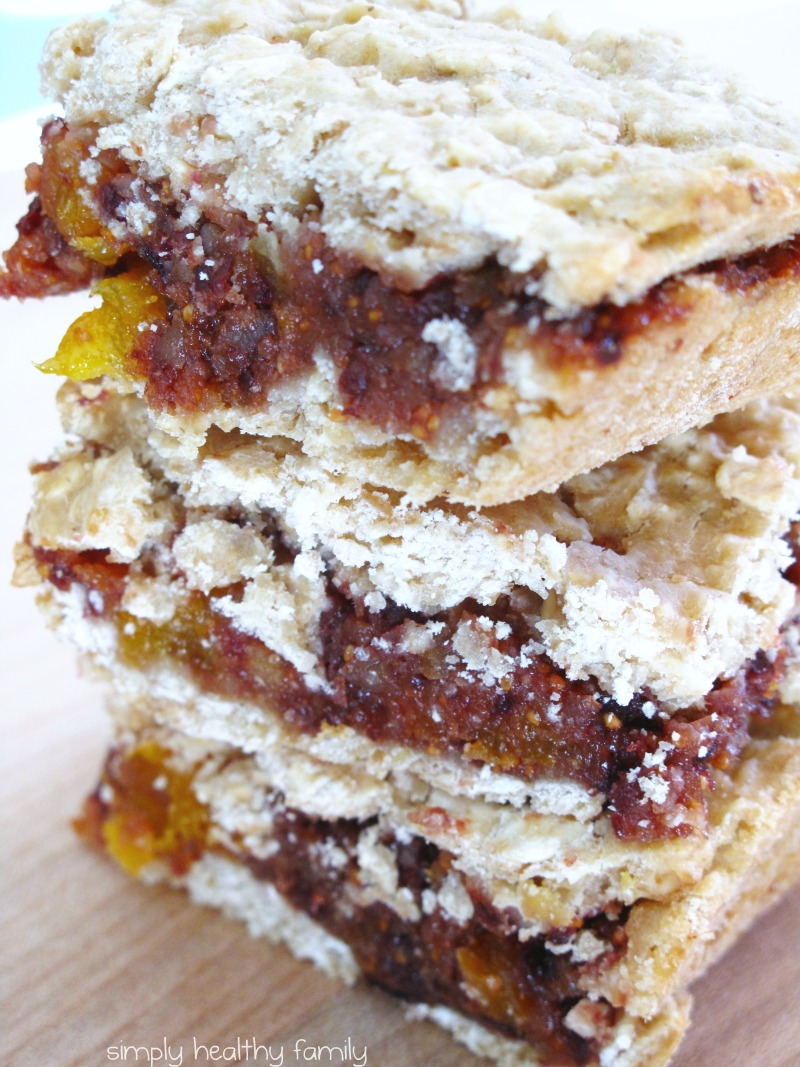 Simply Healthy Family: Old-Fashioned Fig Bars: A Gift for ...